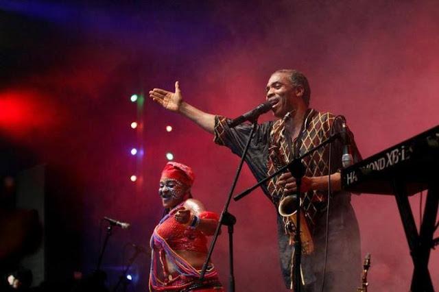 Nigerian musician Femi Kuti