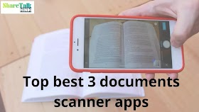 Top 3 best document scanner apps kon si hai