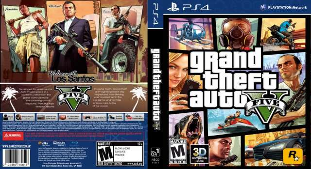 GRAND THEFT AUTO V PS4-FREE DOWNLOAD