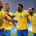 BRASIL  GOLEA  A VENEZUELA 3-0