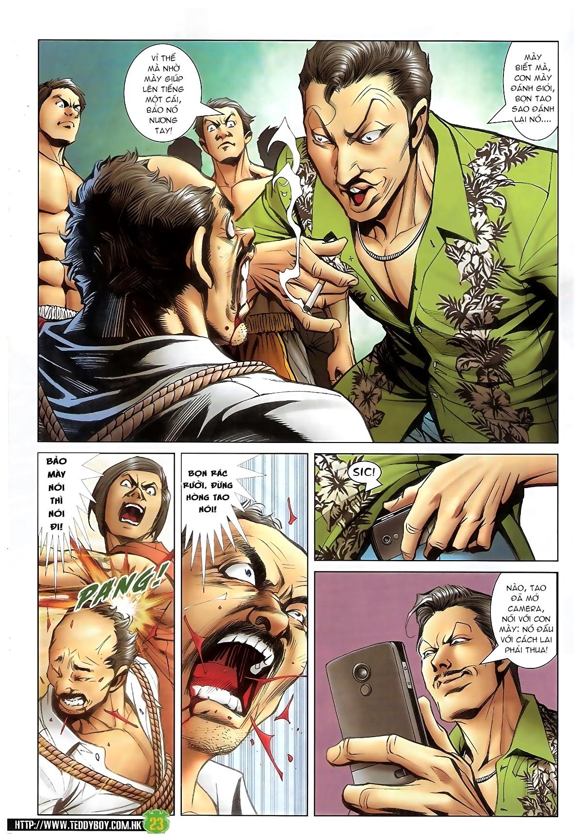 Người Trong Giang Hồ - Chapter 1397: Anh hùng cúi đầu - Pic 22