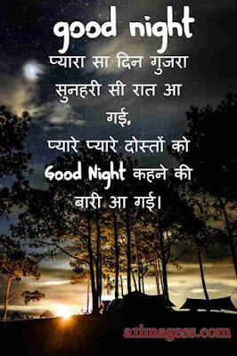 good night image shayari hindi