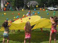 Parachute Games for Kids Popcorn Balls