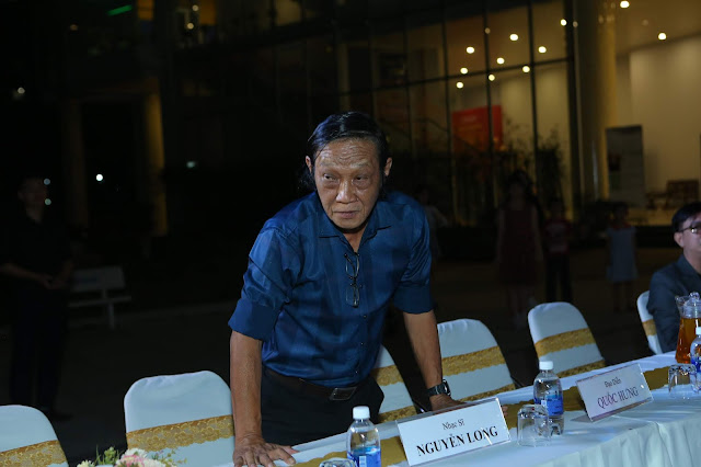 Nhạc sĩ Nguyễn Long - thành viên Hội nhạc sĩ Việt Nam - đại biểu tham dự