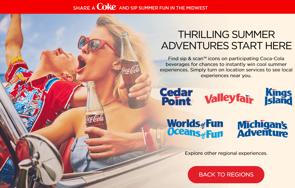 Steward of Savings : Coca-Cola Cedar Fair Amusement Park