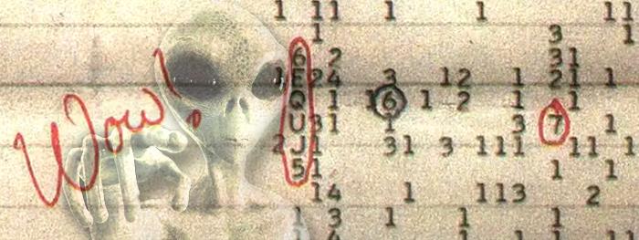 descoberta origem do sinal wow