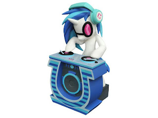 MLP Diamond Select DJ Pon-3 Vinyl Bank