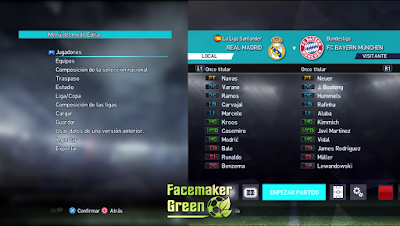 PES 2013 PES 2018 Font by Facemaker Green