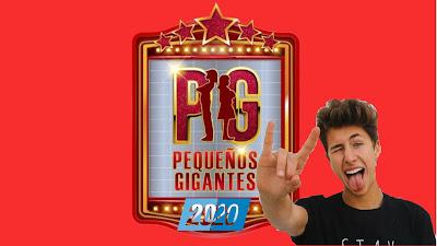 El Youtuber JuanpaZurita en Pequeños Gigantes 2020