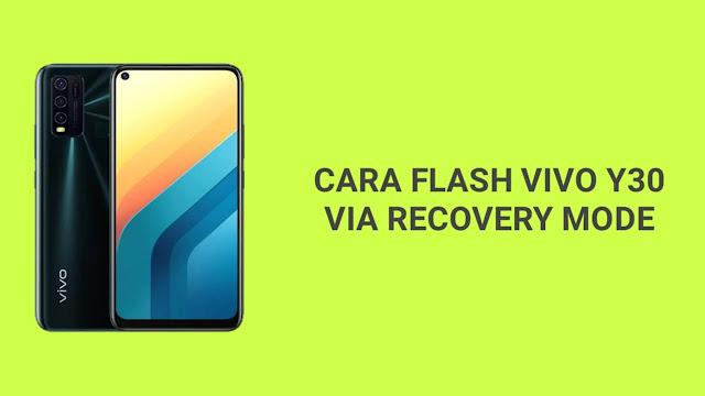 Cara Flash Vivo Y30