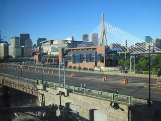 North Washington Street Bridge & Zakim Bridge