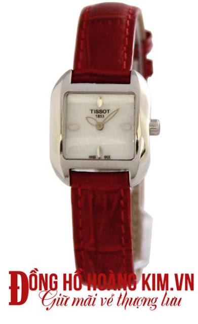 Đồng hồ nữ Tissot.
