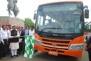 Tata Motors develops country's first Bio-Methane Bus