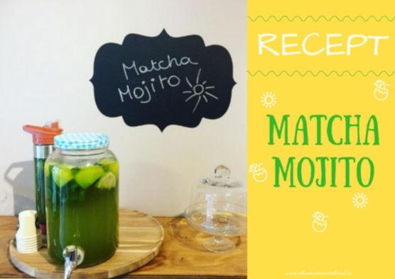 Matcha Mojito!