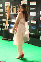 Nidhi Subbaiah Glamorous Pics in Transparent Peachy Gown at IIFA Utsavam Awards 2017  HD Exclusive Pics 56.JPG