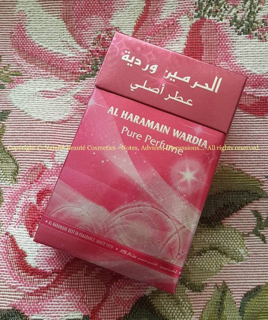 WARDIA by AL HARAMAIN PERSONAL PERFUME REVIEW AND PHOTOS NATALIE BEAUTE
