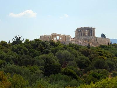 Η Ακρόπολη από τον λόφο του Φιλοπάππου