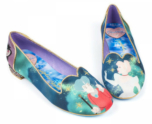 Irregular Choice Disney Cinderella can't stop me dreaming