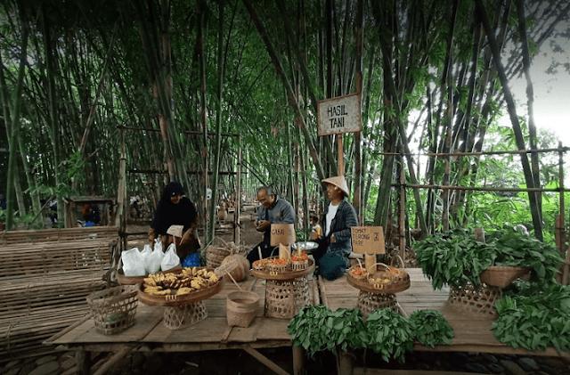 Wisata Temanggung: Pasar Papringan Ngadiprono