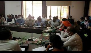 प्रभारी मंत्री हरदीप सिंह डंग 1 दिन के प्रवास पर बालाघाट पहुंचे