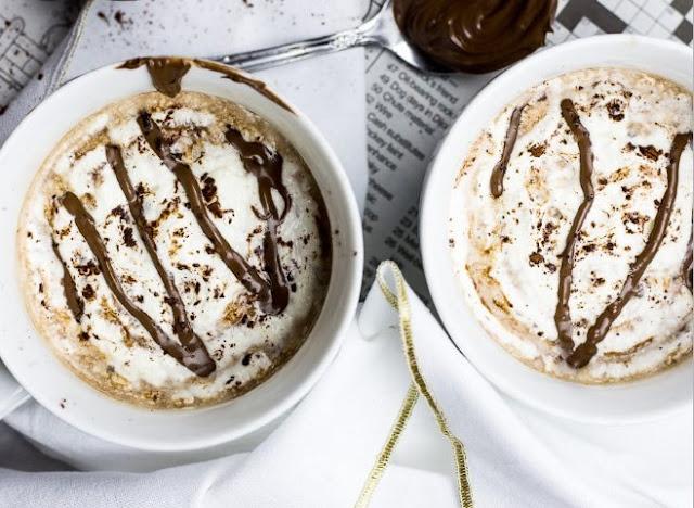Nutella Latte #drinks #latte