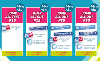 Smart Jump In SIM subscribers Call and Text Promo
