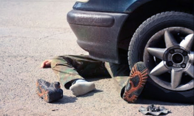 """القيروان:  كان بصدد بيع """"الشاي"""" امام المستشفى .. اصابة شيخ في حادث مرور وتحويله الى قسم الانعاش !"""