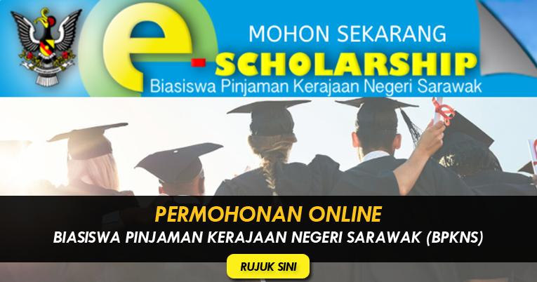 Permohonan Online Biasiswa Pinjaman Kerajaan Negeri Sarawak Bpkns