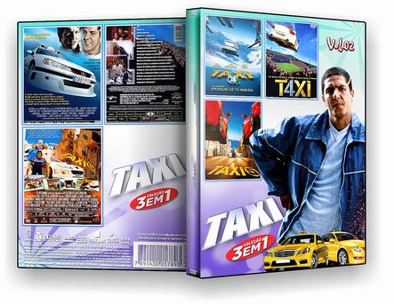 DVD Coleção Taxi 3 em 1 vol.02 - ISO