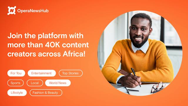 how to make money on opera news hub in nigeria