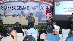 Dankodiklatad Tinjau Latihan Staf Gema Bhakti 2019 Di Jakarta