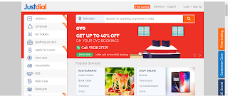 justDial Search engine