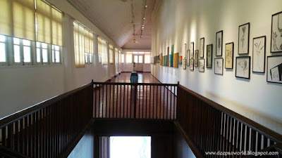 Gallery E of Durbar Hall Art Gallery HnS