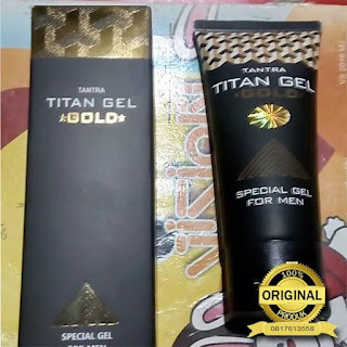 Ciri Titan gel asli dan palsu