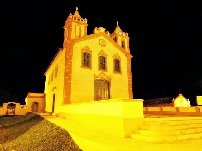 Igreja de Nossa Senhora da Lapa do Ribeirão: um dos destaques arquitetônicos do distrito de Ribeirão da Ilha, em Florianópolis