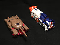 Blitzwing and Astrotrain Land Modes