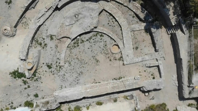 Magnificent 2,000-year-old basilica revealed in Ashkelon