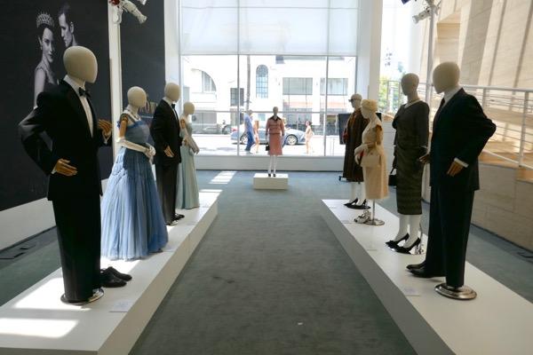 The Crown season 2 costume exhibit