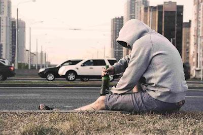 Sad photo for boy