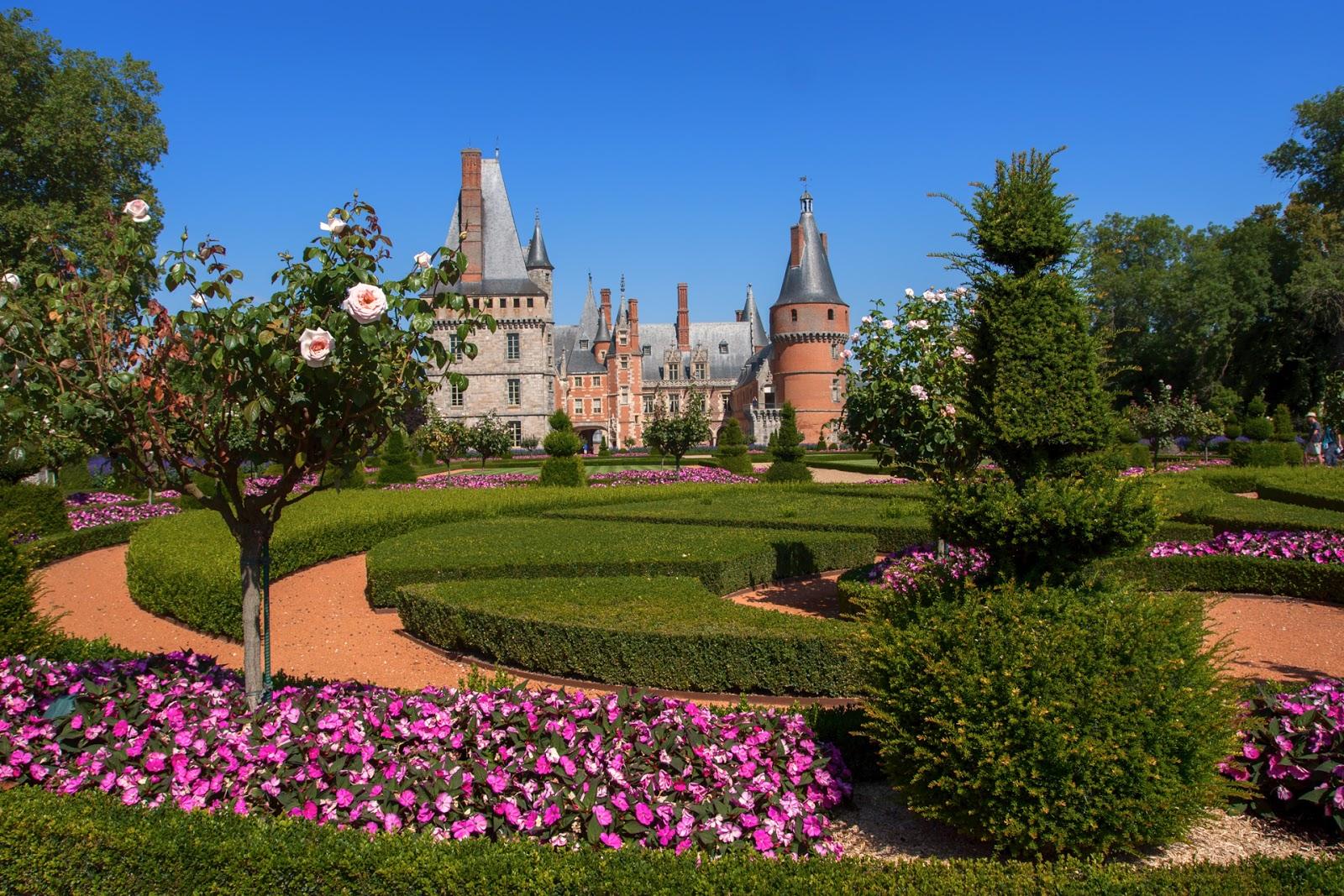 L'élégant château de Maintenon