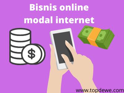 Bisnis online modal kuota internet