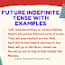 Examples of Future Indefinite Tense