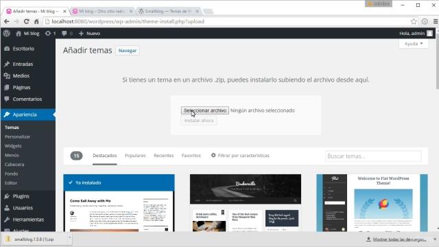 Wordpress: Como crear un sitio web y conseguir trafico curso 3