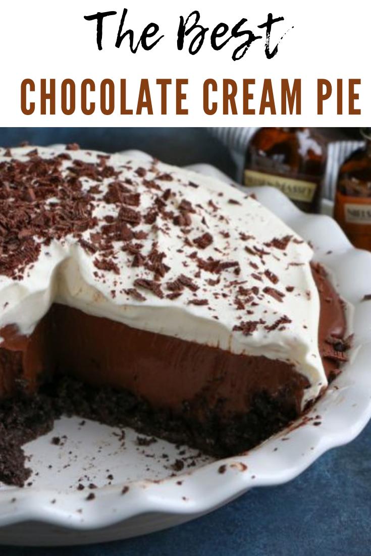 #THEBEST #CHOCOLATE #CREAM #PIE #CAKE #DESSERTS