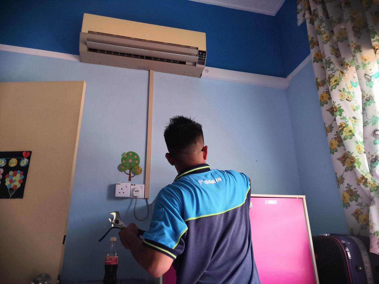 Servis Repair Dan Pasang Aircond Murah Di Muar Johor Dan Melaka Tiny Na Sweet