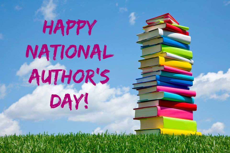 National Author's Day Wishes Images download