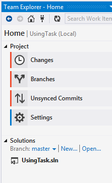 Jeremy Bytes: Getting Used to Git in Visual Studio: Branches