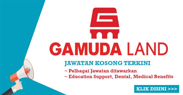 Jawatan Kosong di Gamuda Land Sdn Bhd