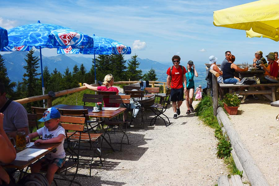 Mountain Top restaurant in Germany