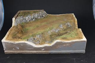 """Article du blog traitant la réalisation d'un diorama avec le Sdkfz 251/1 de Tamiya au 1/35. Diorama  intitulé """"sous le feu"""""""